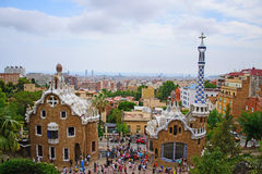 Gaudi houses Stock Image