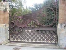 gaudi-iron-dragon-on-gate Stock Images