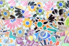 Gaudi konst i Barcelona Royaltyfri Fotografi