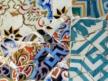 Gaudi mosaic Stock Images