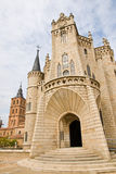 Gaudi palace in Astorga Royalty Free Stock Images