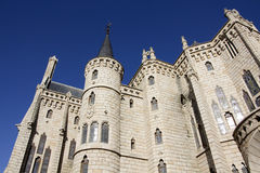 Gaudi palace (Astorga, Spain) Royalty Free Stock Image