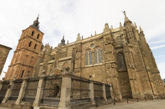 Gaudi Palace Cathedral, Astorga, Pilgrim route to Santiago de Compostela Royalty Free Stock Images