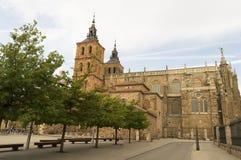 Gaudi Palace Cathedral, Astorga, Pilgrim route to Santiago de Compostela Stock Photography