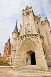 Gaudi-Palast in Astorga Lizenzfreie Stockbilder