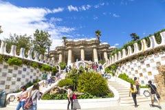 Gaudi Park in Barcelona Royalty Free Stock Photo