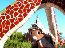Gaudi's art Royalty Free Stock Photography