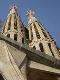 Gaudi's church Stock Photos