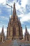 Gaudi's church Stock Images