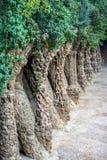 Gaudi& x27;s Parc Guell at Barcelona Royalty Free Stock Photos