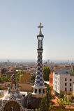 Gaudi's Parc Guell in Barcelona Royalty Free Stock Images