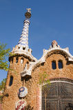 Gaudi's Parc Guell in Barcelona Royalty Free Stock Image