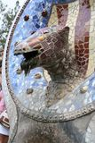 Gaudi& x27;s Parc Guell at Barcelona Royalty Free Stock Photography