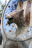 Gaudi& x27;s Parc Guell at Barcelona Stock Photography