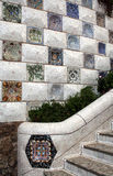 Gaudi& x27;s Parc Guell at Barcelona Stock Photos