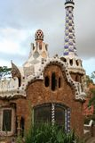 Gaudi& x27;s Parc Guell at Barcelona Royalty Free Stock Photo