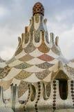 Gaudi& x27; s Parc Guell przy Barcelona zdjęcie stock