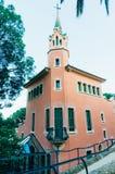 Gaudi's residence Stock Image