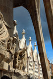 Gaudi's Sagrada Familia Barcelona Stock Photo