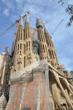 Gaudi's Sagrada Familia Royalty Free Stock Photo