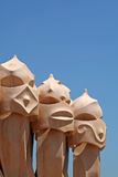 Gaudi's Sculptures Royalty Free Stock Photo