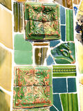 Gaudi's tiles Royalty Free Stock Photography
