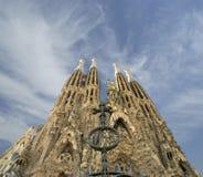 gaudi sagrada Ισπανία familia του Antoni Βαρκελώνη Στοκ Φωτογραφίες