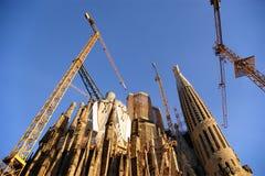 gaudi sagrada familia του Antoni Βαρκελώνη Στοκ φωτογραφία με δικαίωμα ελεύθερης χρήσης