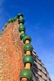 Gaudi tiles royalty free stock images