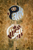 Gaudi& x27;s Parc Guell at Barcelona Royalty Free Stock Image