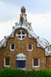 Gaudis architektura w Parkowym Guell Zdjęcie Royalty Free