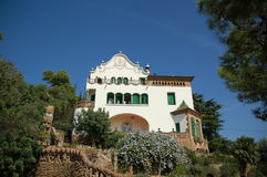 Gaudis Parque Guell in Barcelona, S Stock Photography