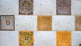 Gaudis texturer Arkivfoto