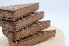 Gaufre de chocolat Image stock