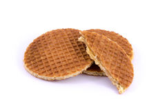Gaufre ronde images stock