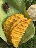 Gaufre thaïlandaise le même nid d'abeilles Photographie stock