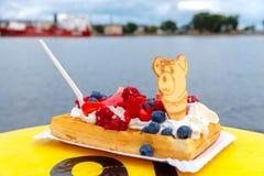 Gaufre waffles Стоковые Фотографии RF