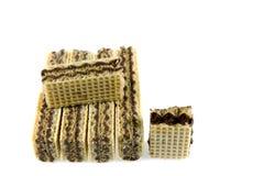 Gaufrette de chocolat Photographie stock libre de droits