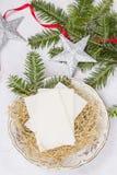 Gaufrette de Noël Images libres de droits