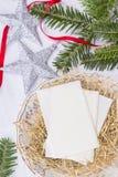 Gaufrette de Noël Photo libre de droits