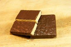 Gaufrettes de chocolat Images stock