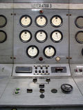 Gauge. Old gauger electrical in the power station royalty free stock image