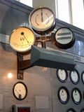 Gauge. Old gauger electrical in the power station royalty free stock photography