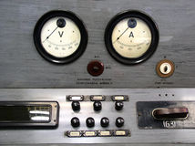 Gauge. R electrical in the power station stock photos