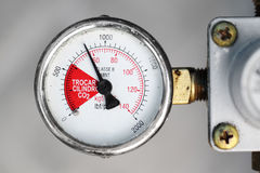 Gauge closeup Stock Images