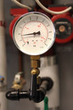 Gauge with Isolating Valve Stock Photos