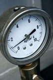 Gauge Pressure Stock Photo