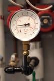 gauge som isolerar ventilen arkivfoton