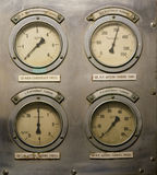 gauges Royaltyfri Bild