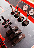 Gauges and levers Stock Photos